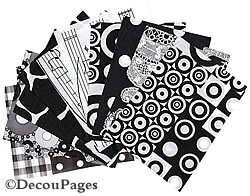 Decopatch paper selection