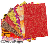 decopatch and decoupage papers