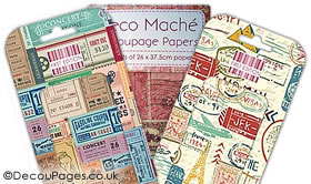 Deco Mache papers